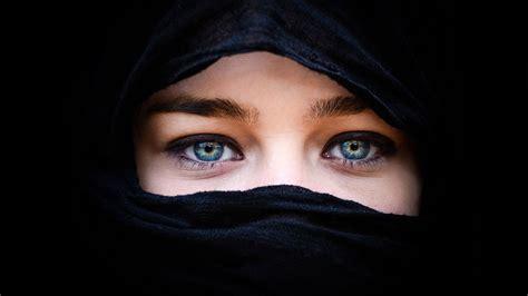 woman  hijab hd wallpaper background image