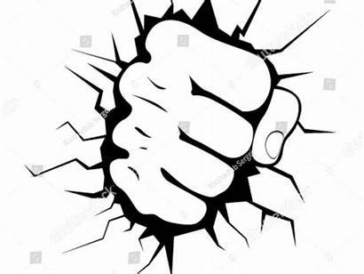 Hulk Clipart Fist Drawing Clipartmag