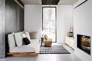 Wohnzimmer Scandi Style : banc en palette de bois diy d co d 39 int rieur et d 39 ext rieur ~ Frokenaadalensverden.com Haus und Dekorationen