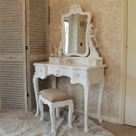 white bedroom furniture set dressing table mirror stool