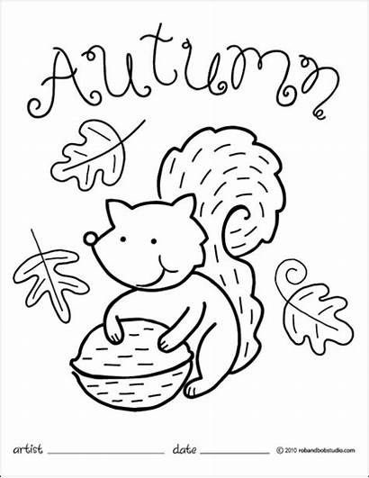 Coloring Autumn Pages Crafts Activities Games