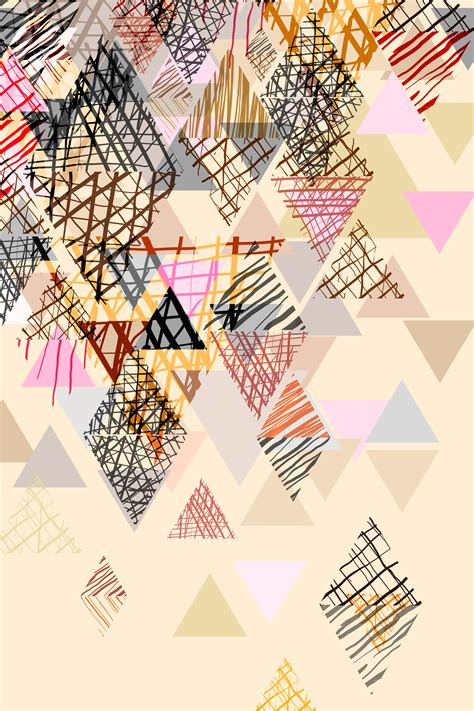 doodle abstract background  pastel tone