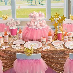 Pink Provincial Princess Party Supplies - Kids Party Supplies