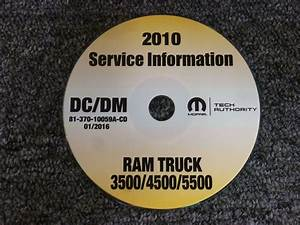 2010 Dodge Ram Truck 3500 4500 5500 Cab Chassis Shop