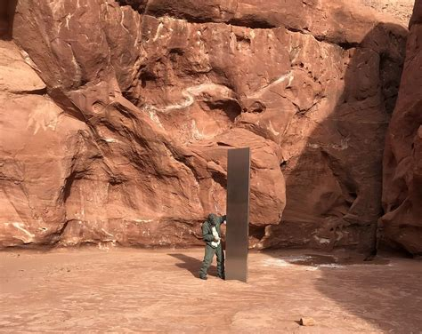 mysterious monolith    romania