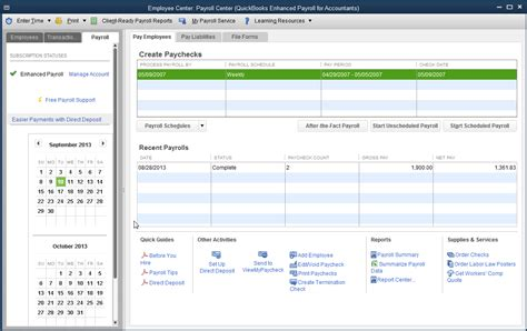 Quickbooks 2014  Changesimprovements To The Payroll