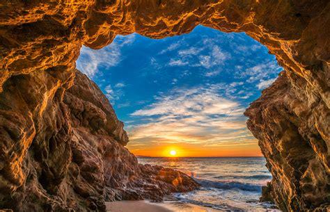 beautiful beach scenery epic high resolution malibu lands