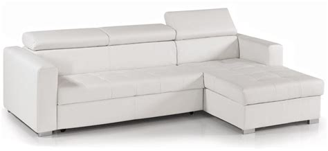 canapé d angle convertible simili cuir pas cher canapé cuir blanc convertible my