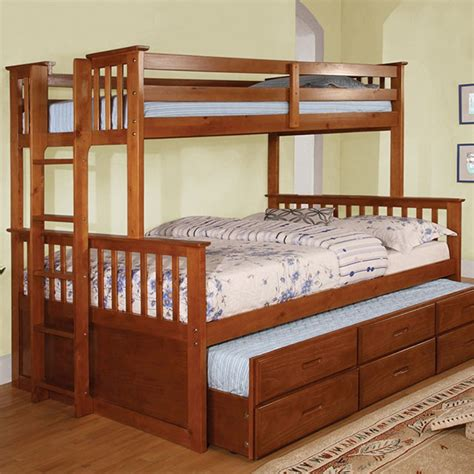 Xl Trundle Bed by Children Bedroom Set Bunk Bed Cm Bk458q Xl