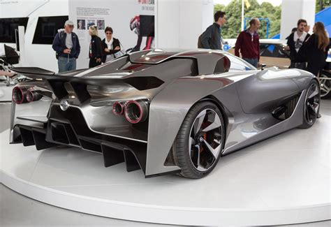 nissan concept  vision gran turismo unwrapped  goodwood