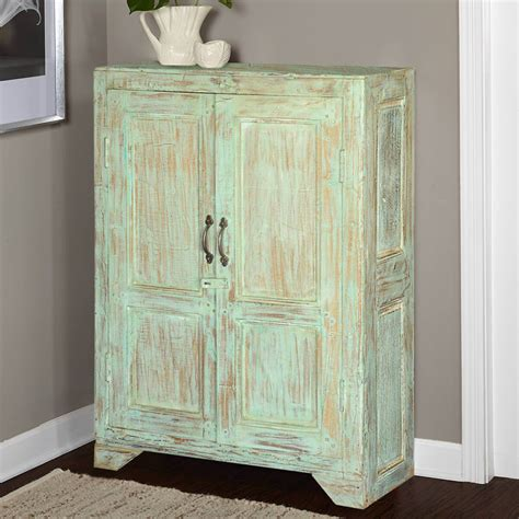Wooden Armoire Cabinets by Julian Rustic Reclaimed Wood Storage Cabinet 2 Door Small