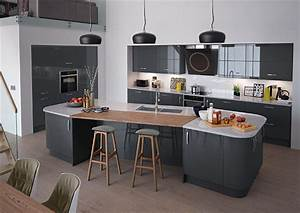 High Gloss Anthracite Kitchen Doors From £2 99