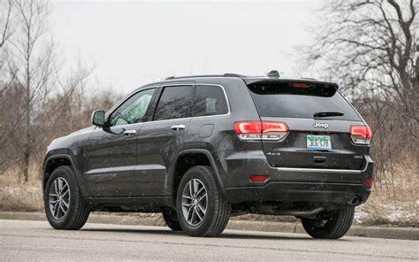 comparison jeep grand cherokee overland