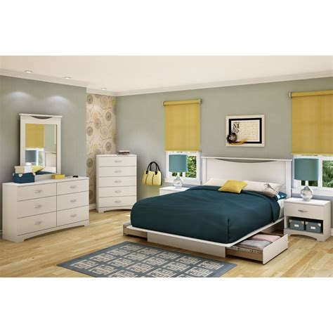contemporary platform bed with lights size white modern platform bed frame with 2 storage