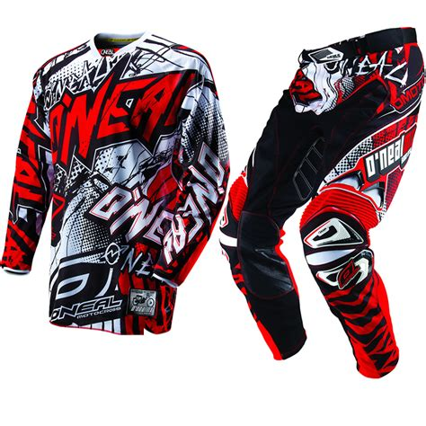 motocross jerseys and pants oneal 2013 hardwear automatic black red mx motocross