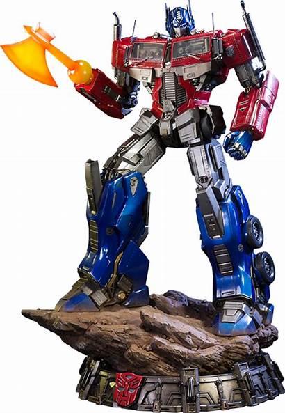 Optimus Prime Transformers Generation Sideshow Statue Studio