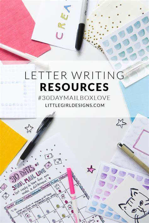 letter writing resources  writing letters  year long