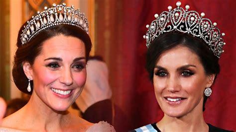 Reina Letizia Kate Middleton Las Tiaras Mas