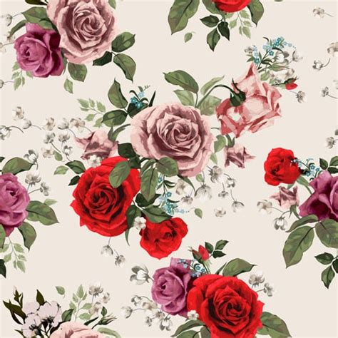 vector rose patterns freecreatives