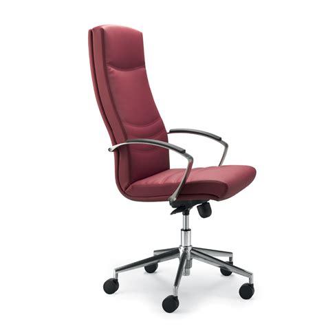 grain leather executive office chair debora modern