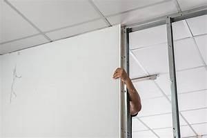 Plaque De Platre : comment monter une cloison en plaque de pl tre castorama ~ Melissatoandfro.com Idées de Décoration