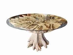 Glastisch Rund 100 Cm : tisch esstisch glastisch konferenztisch rund mit wurzelholz d 170 cm 6492 tische esstische ~ Bigdaddyawards.com Haus und Dekorationen