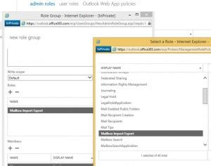 Office 365 Portal Timeout by How To Setup Import Export In Office 365 Noel