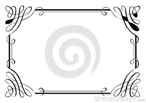 fancy page border  royalty  stock images image