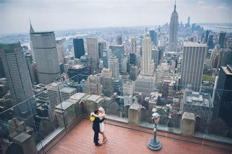 rockefeller center elopement top   rock hochzeit