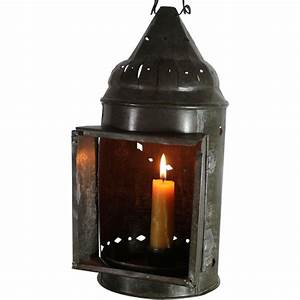 Vintage Primitive American Candle Lantern from ...