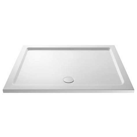 Shower Tray 1700 X 800 - 1700 x 800 slimline rectangular resin shower tray