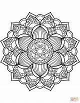 Coloring Printable Pdf Mandalas Mandala Animal Animals Dog Peep Fascinating Source sketch template