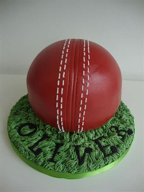 cricket ball cake celebration cakes cakeology