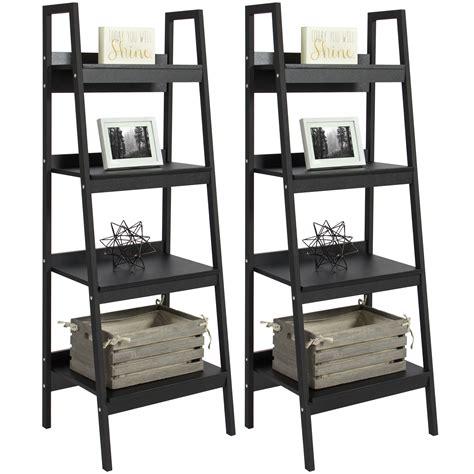 Altra Metal Ladder Bookcase, Set Of 2, Black Walmartcom