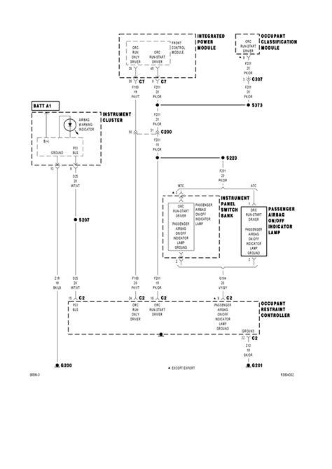 Air Bag Wiring Diagram by Wiringdiagrams