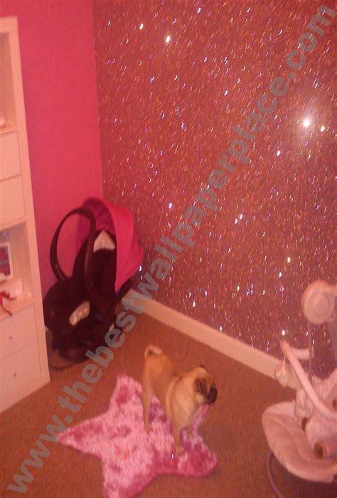 glitter wallpaper decorating glitter accent wall