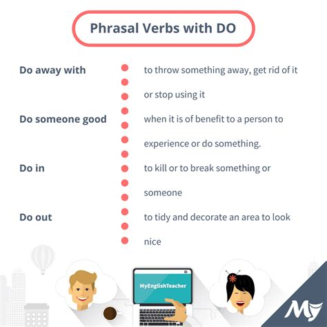 Top 20 Phrasal Verbs With Make And Do
