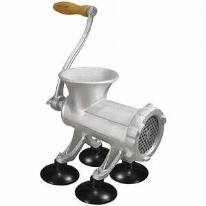 Weston U00ae  22 Manual Meat Grinder  U0026 Sausage Stuffer