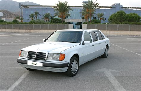 Limousine Rental by Mercedes 300d Turbo Limousine Rental With Driver