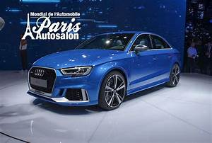 Audi Paris : audi rs3 facelift 2016 limousine in paris ~ Gottalentnigeria.com Avis de Voitures