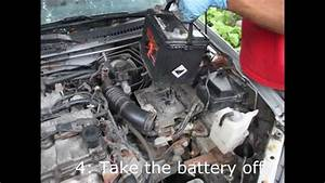 How To Engine Removal Mazda Protege