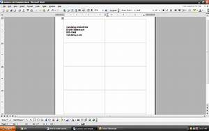 How to make business cards using microsoft word ehow uk for How to make a business card in microsoft word