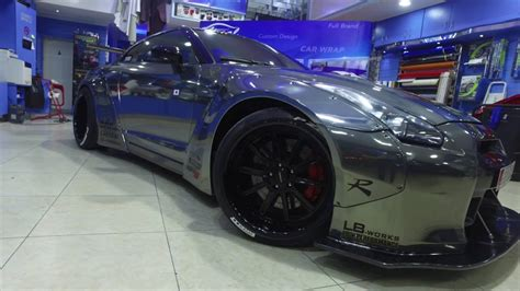 Local Upholstery by Nissan Gtr Liberty Walk Edition Wrapped By Local