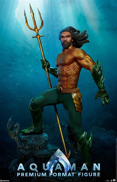 'aquaman' New Sideshow Collectibles Figure Features Jason