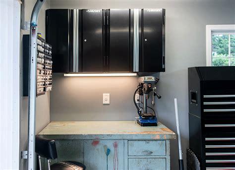heavy duty steel garage cabinets   man