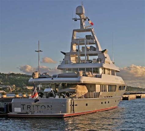 americas  largest yachts   triton power