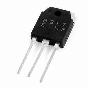 Power Amplifier 140V 12A 3 Pin PNP Transistor 2SB817   eBay  Transistor
