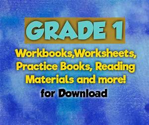 Grade 1 Worksheets- Free Download