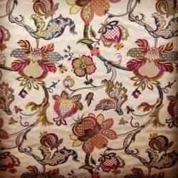 jacobean floral curtain fabric begenn