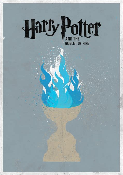 minimal harry potter film posters